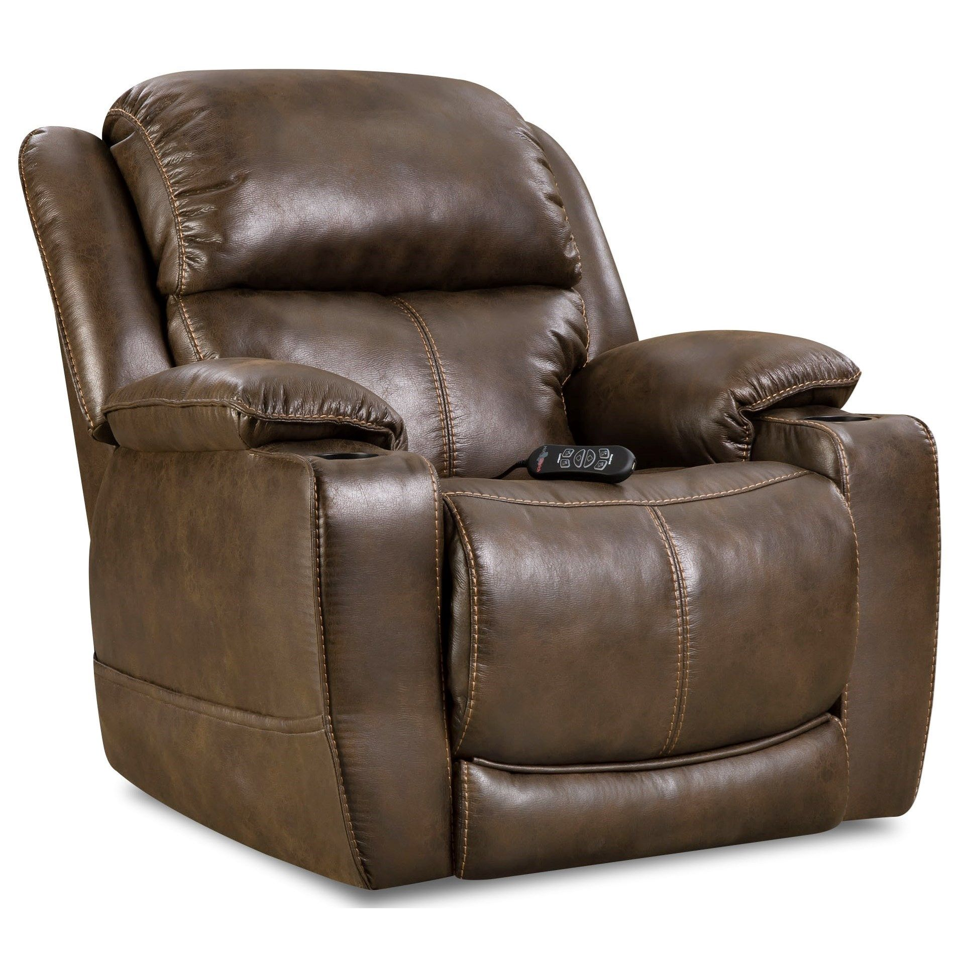 Power Motion Recliner Infinite Position Power Recline Means That You Can Find The Position That Best Suits You Th Recliner Theater Recliners Power Recliners
