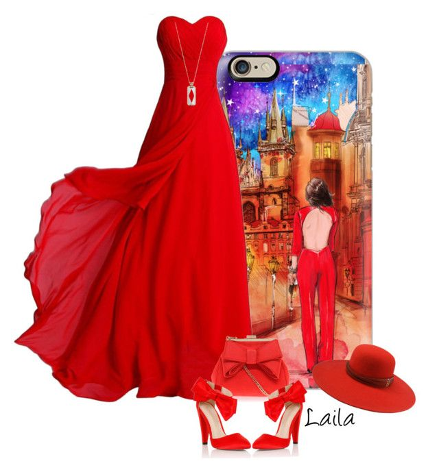 """Iphone Case and Red Dress"" by lailagasholt ❤ liked on Polyvore featuring Casetify, The Season Hats, Miss KG, Lipsy, Vinaya, contest, outfit, red and iphonecase"