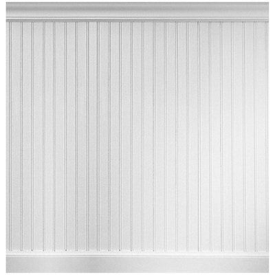 Charlton Home Alvarez 96 Mdf Wall Paneling In White Primer Wayfair Mdf Wall Panels Beadboard Wainscoting Wainscoting