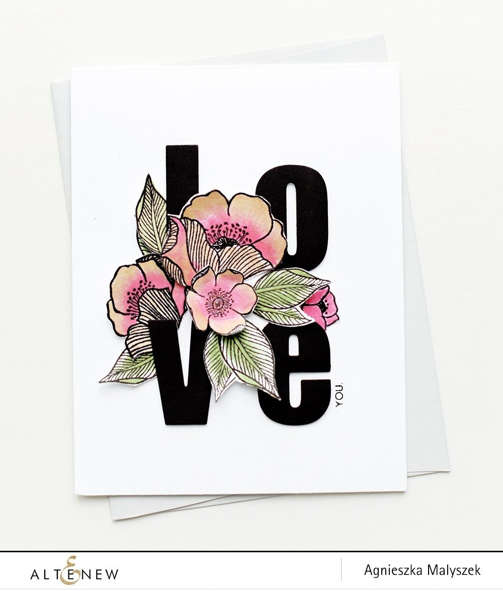 Hello Everyone! It's Aga here and I hope you all are having a great week so far! Have you started thinking about Valentine's Day cards yet? I have! I'm not a pink person when it comes to Valentine's Day cards, and I always look for something different than hearts. So, for my today's card I …