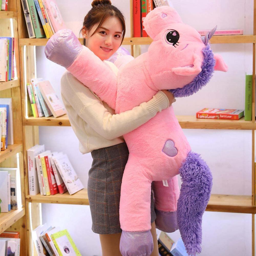 Giant Unicorn Stuffed Animal Cute Life Size Toy Unicorn Stuffed Animal Unicorn Stuffed Animal Plush Unicorn Plush [ 1000 x 1000 Pixel ]