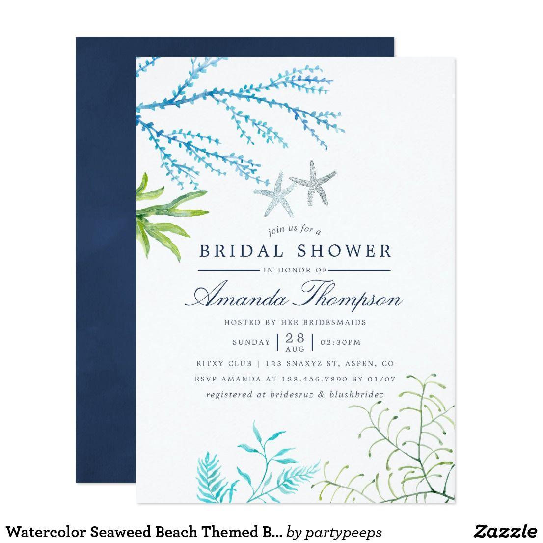 48+ Sea themed wedding invitations info