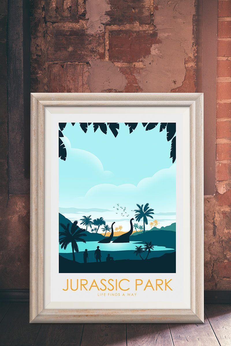 Jurassic park life finds a way lake scene
