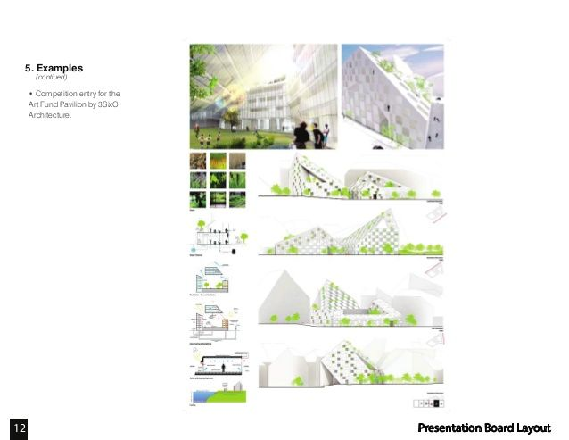 39 awesome competition presentation boards images for Architectural concept board examples