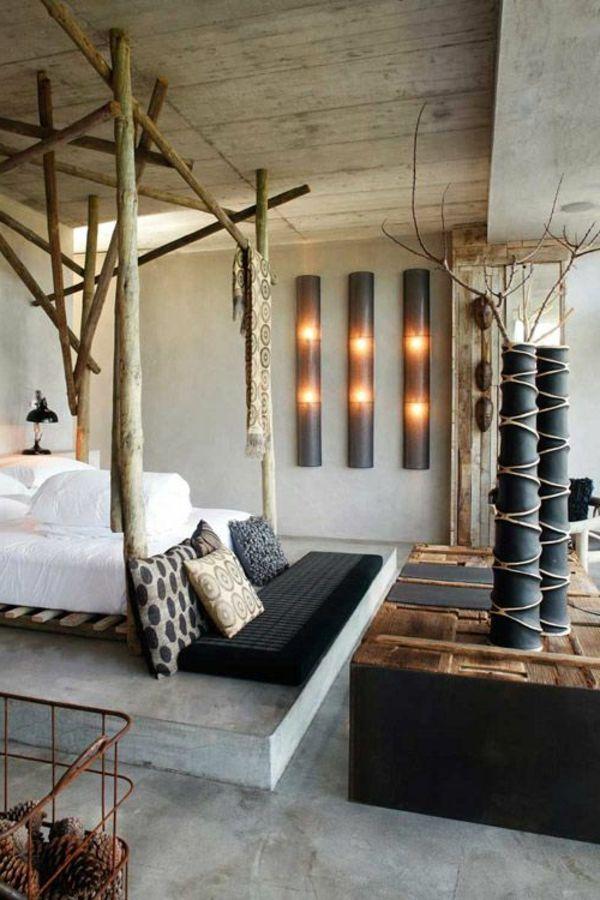 am nager sa chambre zen avec du style chambre zen lit. Black Bedroom Furniture Sets. Home Design Ideas
