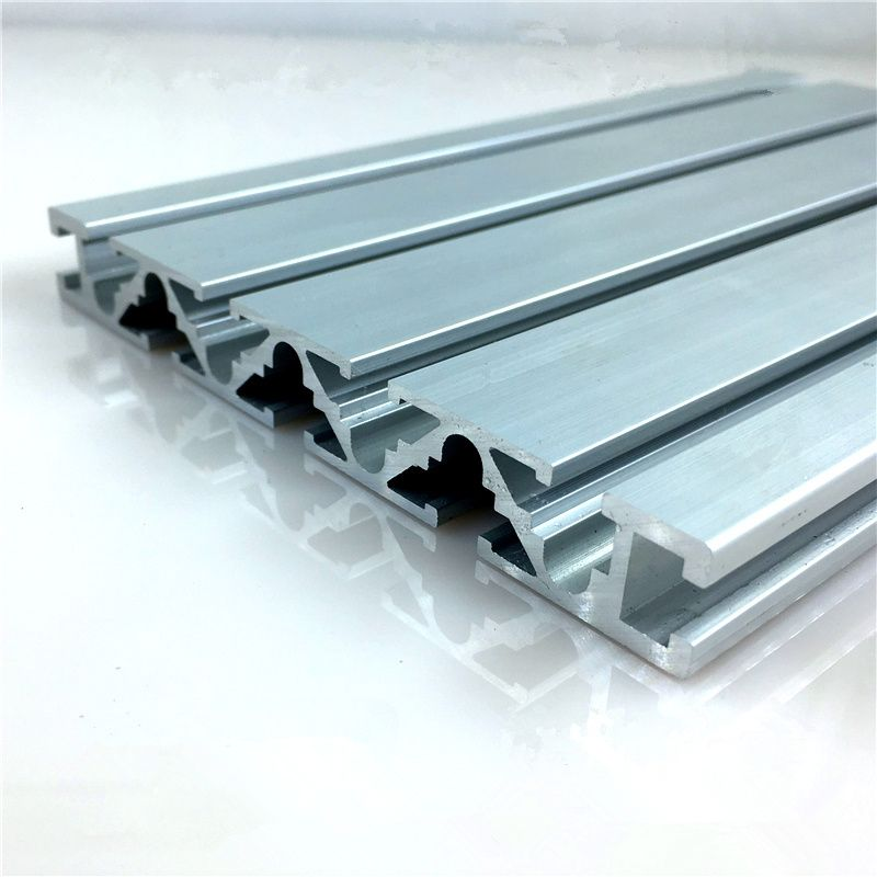 15120 Aluminum Extrusion Profile Wall Thickness 1 5mm Groove Width 6mm Length 100mm Industrial Aluminum Profi Aluminum Extrusion Extrusion Industrial Workbench
