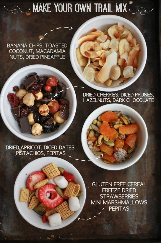 Trail Mix for the Week - Healthy Ideas for Getting Started // One Lovely Life ...   - ONE LOVELY LIFE - FROM THE BLOG -