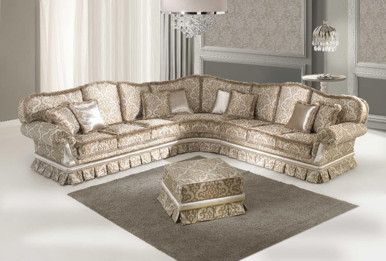 Emily luxury Italian corner sofa in 2019   Corner sofa ...