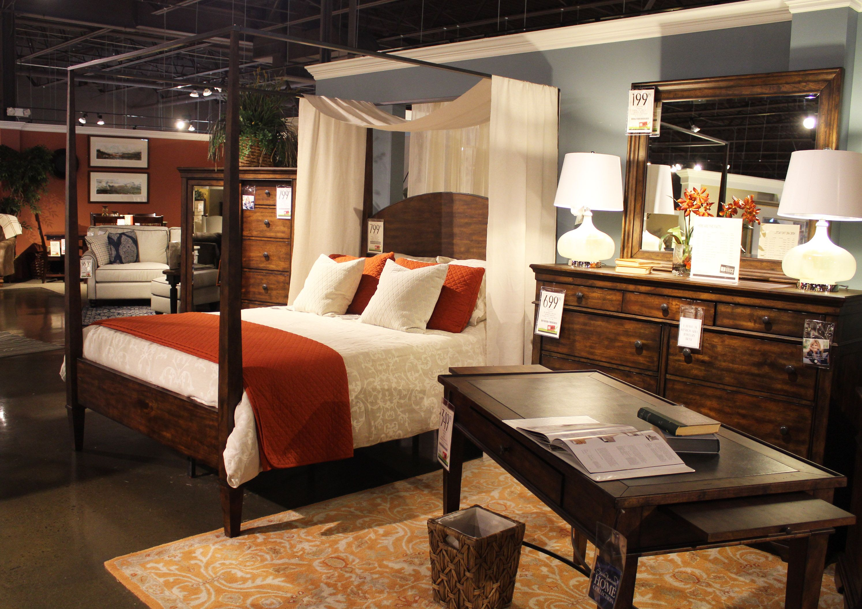 New Canopy Bed From Trisha Yearwood Home Collection At Old Brick Furniture.