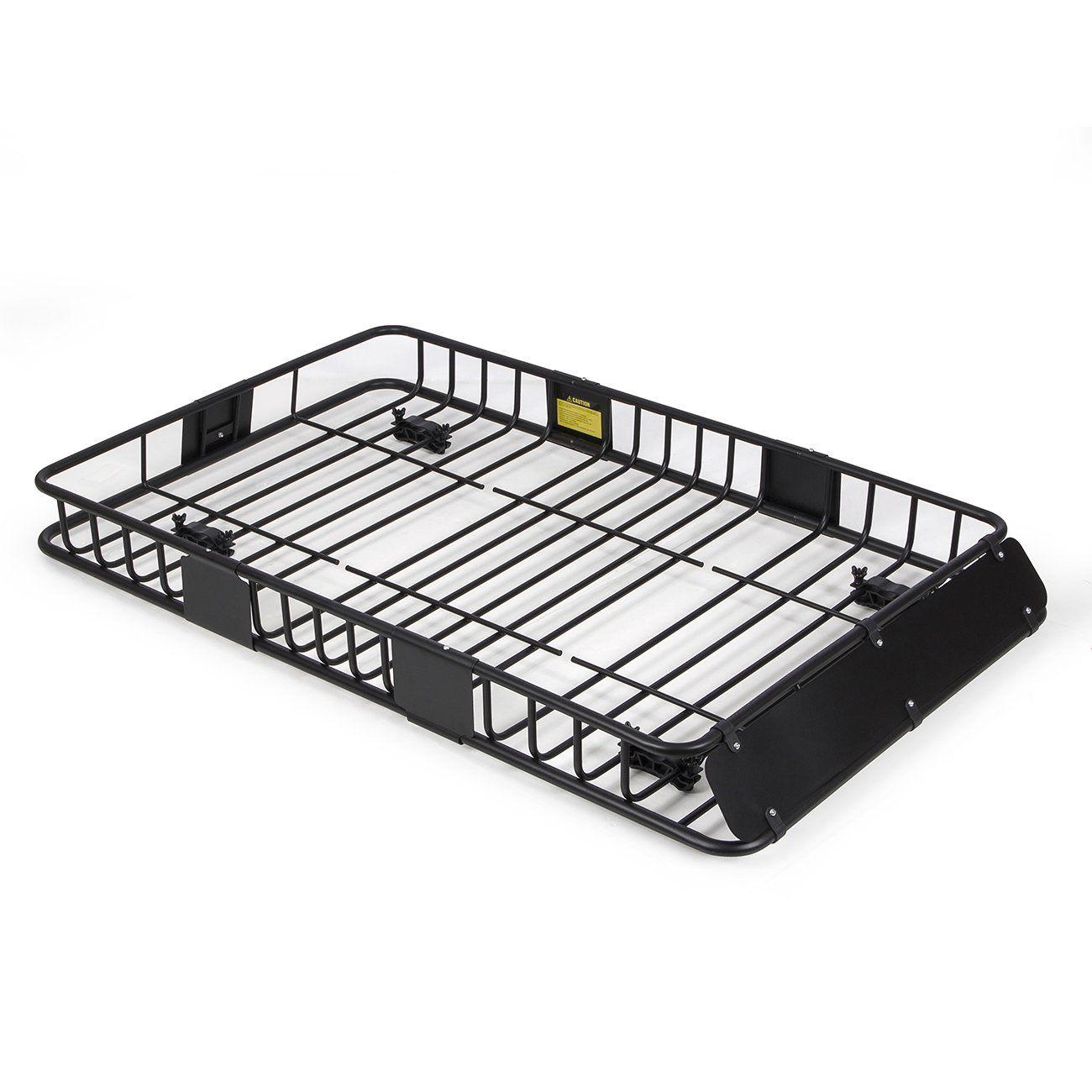 ARKSEN 64 Universal Black Roof Rack Cargo with Extension