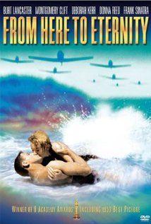 """Quem gosta de cinema não pode deixar de assistir ao filme """"A um passo da eternidade"""". Um clássico da década de 1950, vencedor de 8 Oscars, incluindo melhor filme, direção e atores coadjuvantes, para Frank Sinatra e Donna Reed. Com Burt Lancaster, Montgomery Clift e Deborah Kerr."""