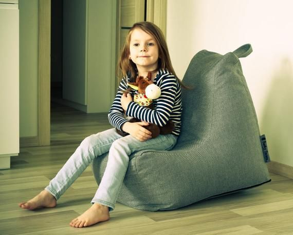 Handmade Bean Bag SEAT HOME KIDS (ONLY COVER WITH INNER ...