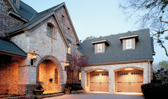 Check Out This Exciting Faux Wood Garage Doors What An