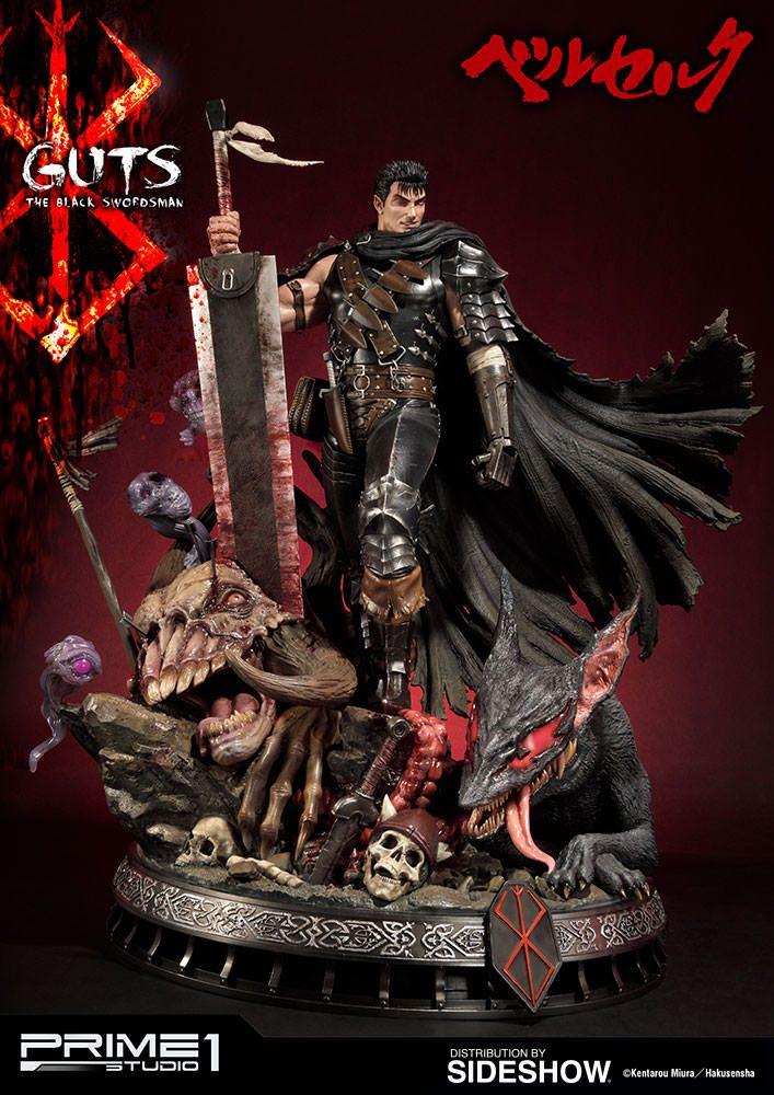 Berserk Guts The Black Swordsman Statue by Prime 1 Studio