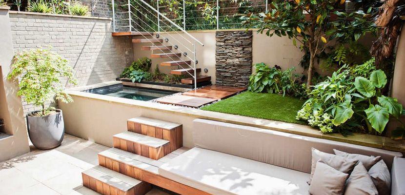 Piscinas elevadas en el exterior en 2018 ideas para el - Escaleras de piscinas baratas ...