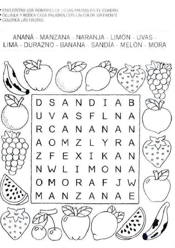 sopas de letras y otros juegos infantiles_013:   Imprimibles ...