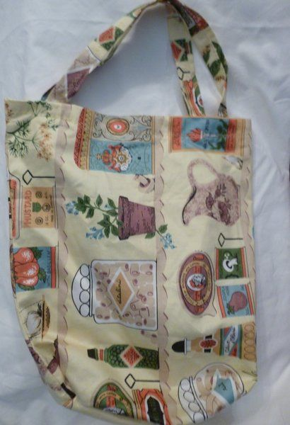 I just listed Tote Bag Boxed Bottom Tote Bag with Old Fashion Seasoning Labels on The CraftStar @TheCraftStar #uniquegifts