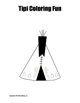 Native American Coloring Page Duo Printables Nativeamerican Worksheets Classroom Teacher Resource Classroom Native American Color