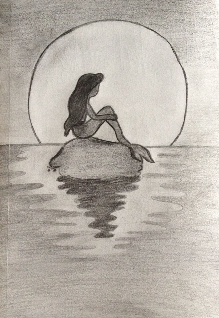 Mermaid sketch more