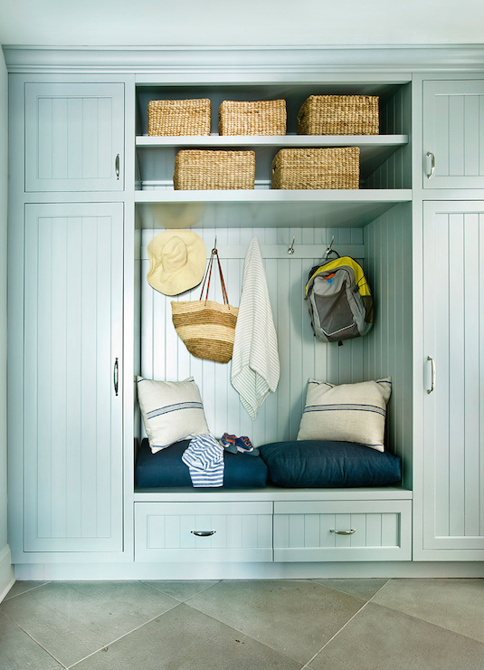 lilypad grey cottage cabinet painted cabinets mudroom the