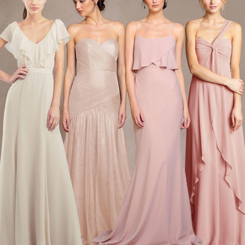 Excepcional Vestidos De Dama Jenny Yoo Festooning - Colección de ...