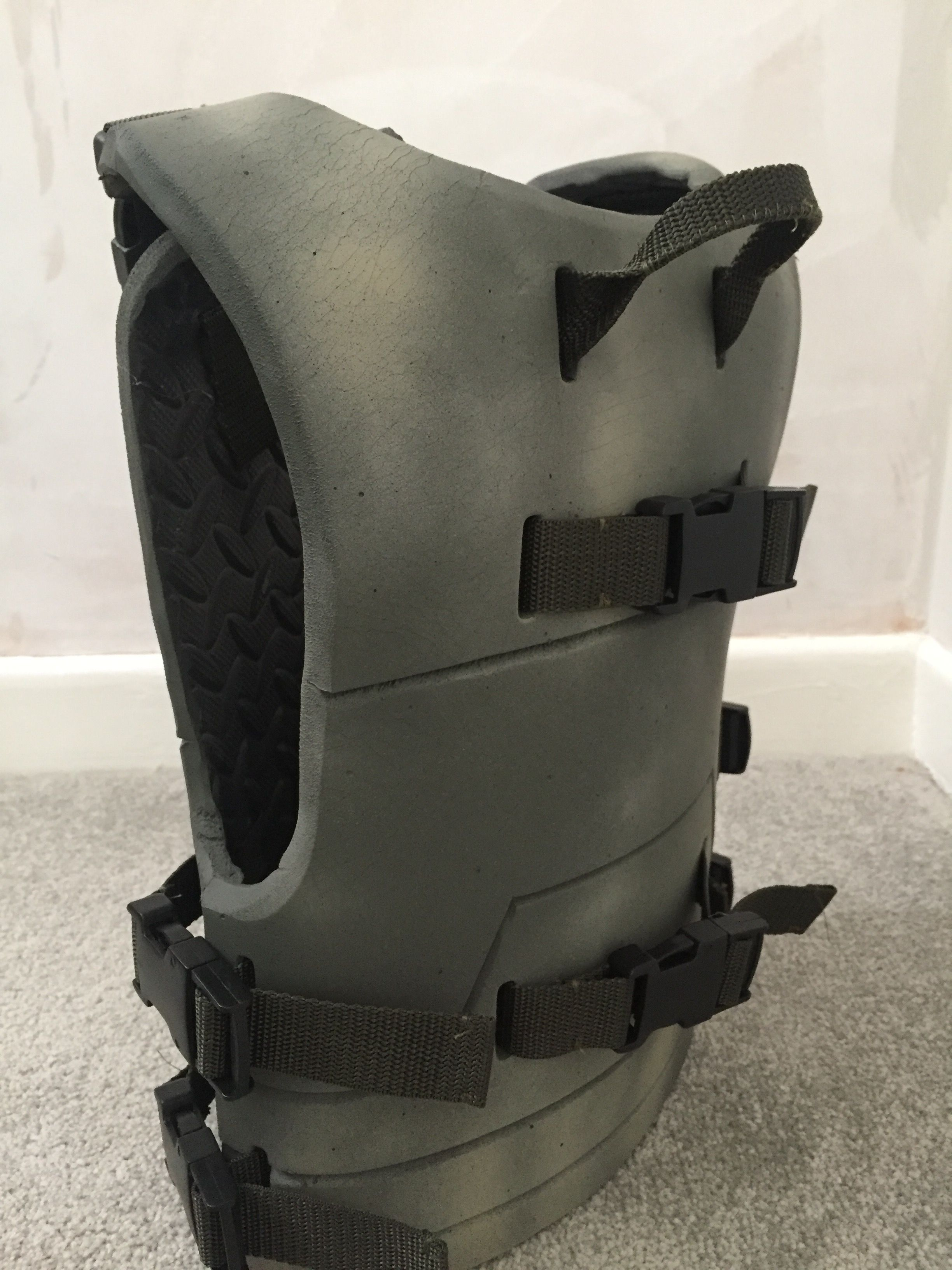 Kids tactical body armour made from Eva foam Nerf body armour for kids  Straps on back to hold Nerf guns !
