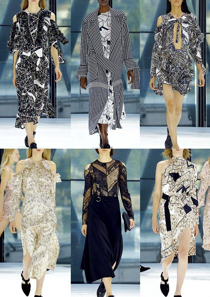 London Fashion Week Womenswear Print Highlights Part 2