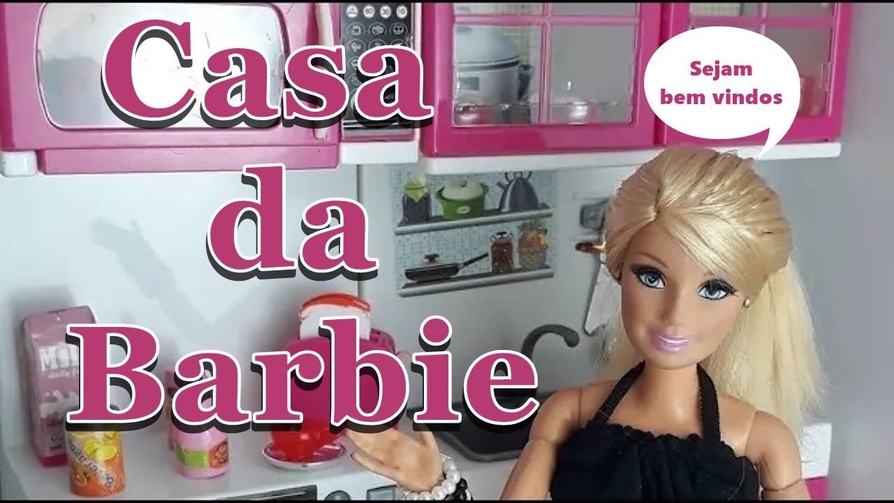 Mostrando A Casa Da Barbie Pedido De Seguidores Casa Da Barbie Barbie Youtube