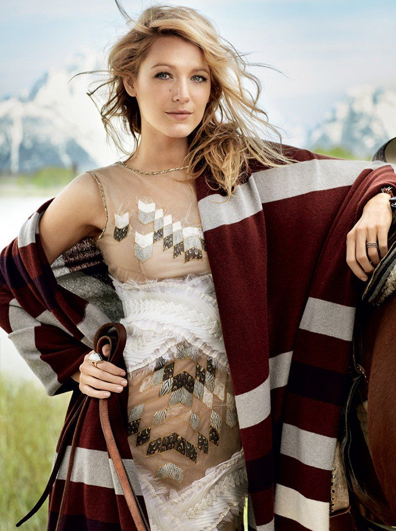 Blake Lively Lands August 2014 Vogue Cover, Talks New Website Venture