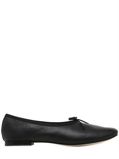 Repetto Manon leather ballet flats