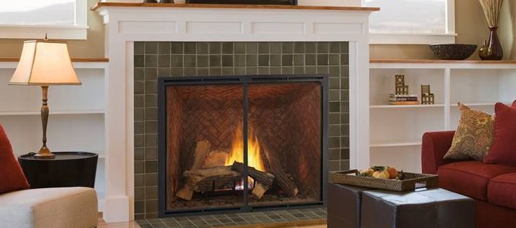The Heirloom Fireplace From Heatilator Is The Perfect Focal Point