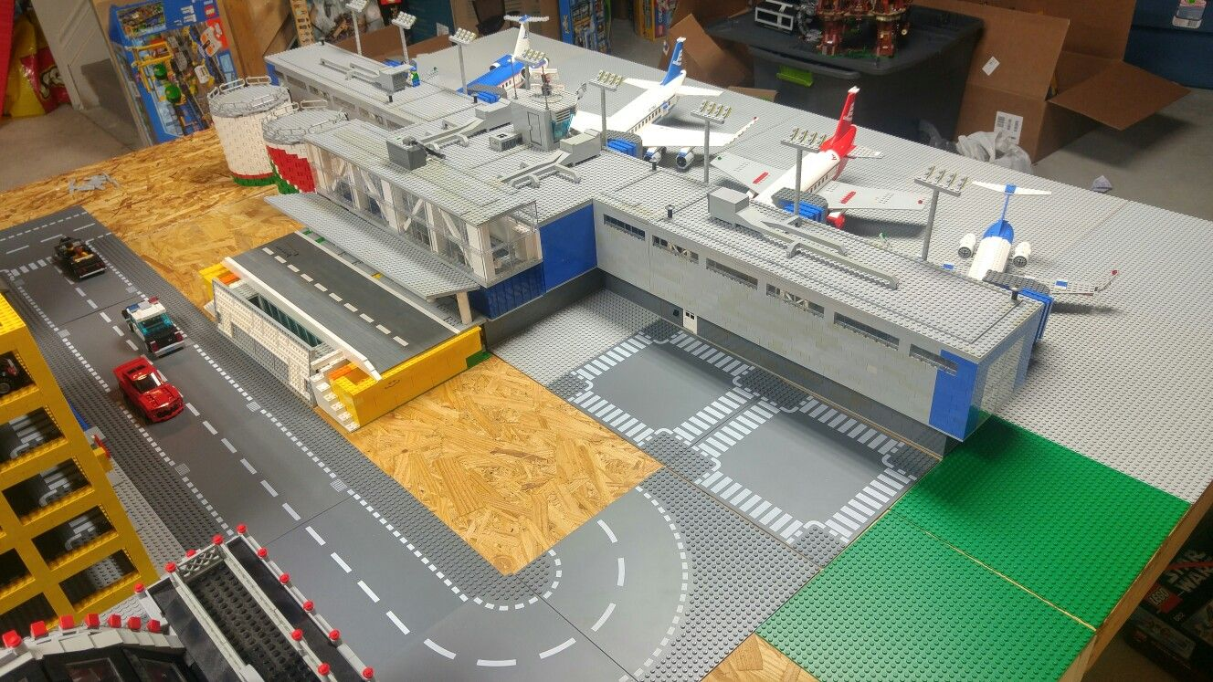 Pin By Bevins Bricks On Airport Pinterest Lego City Airport