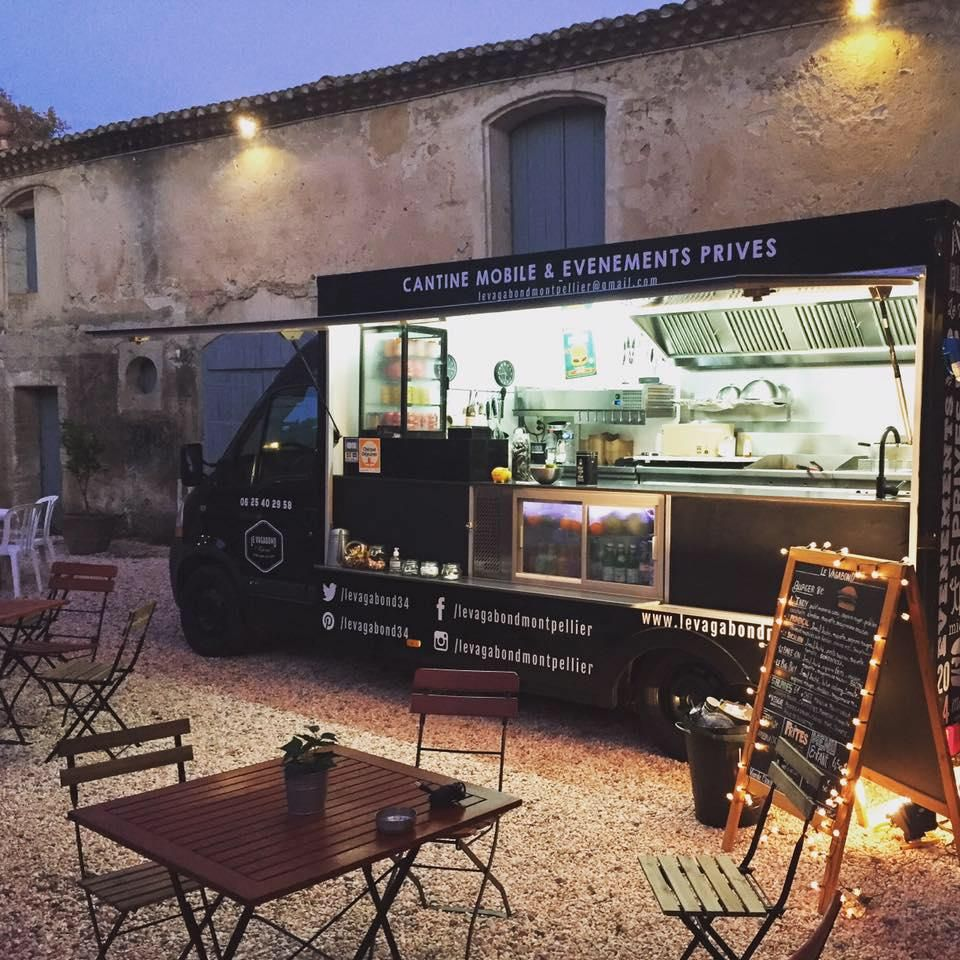 Le joli Foodtruck le Vagabond ! Deco france, Food