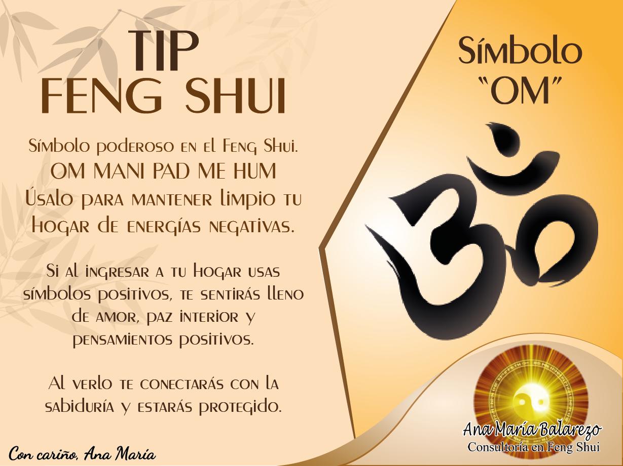 Tipfengshui usa este s mbolo om en casa para para for Feng shui en casa consejos