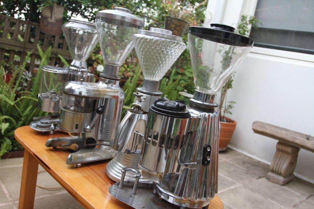 Doge vintage coffee grinder to suit faema pavoni la