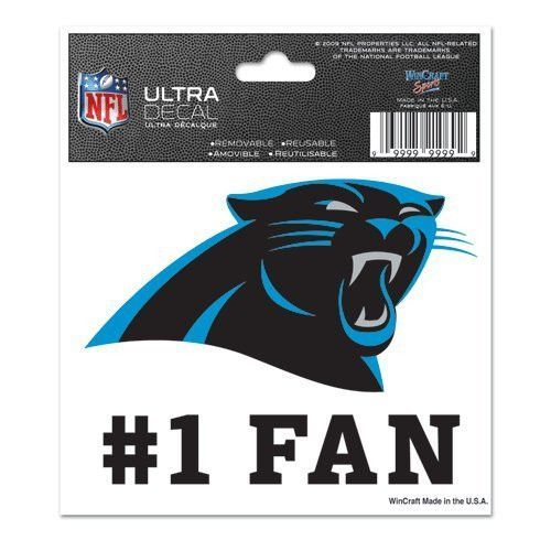Team ProMark NFL Carolina Panthers Slogan Decal