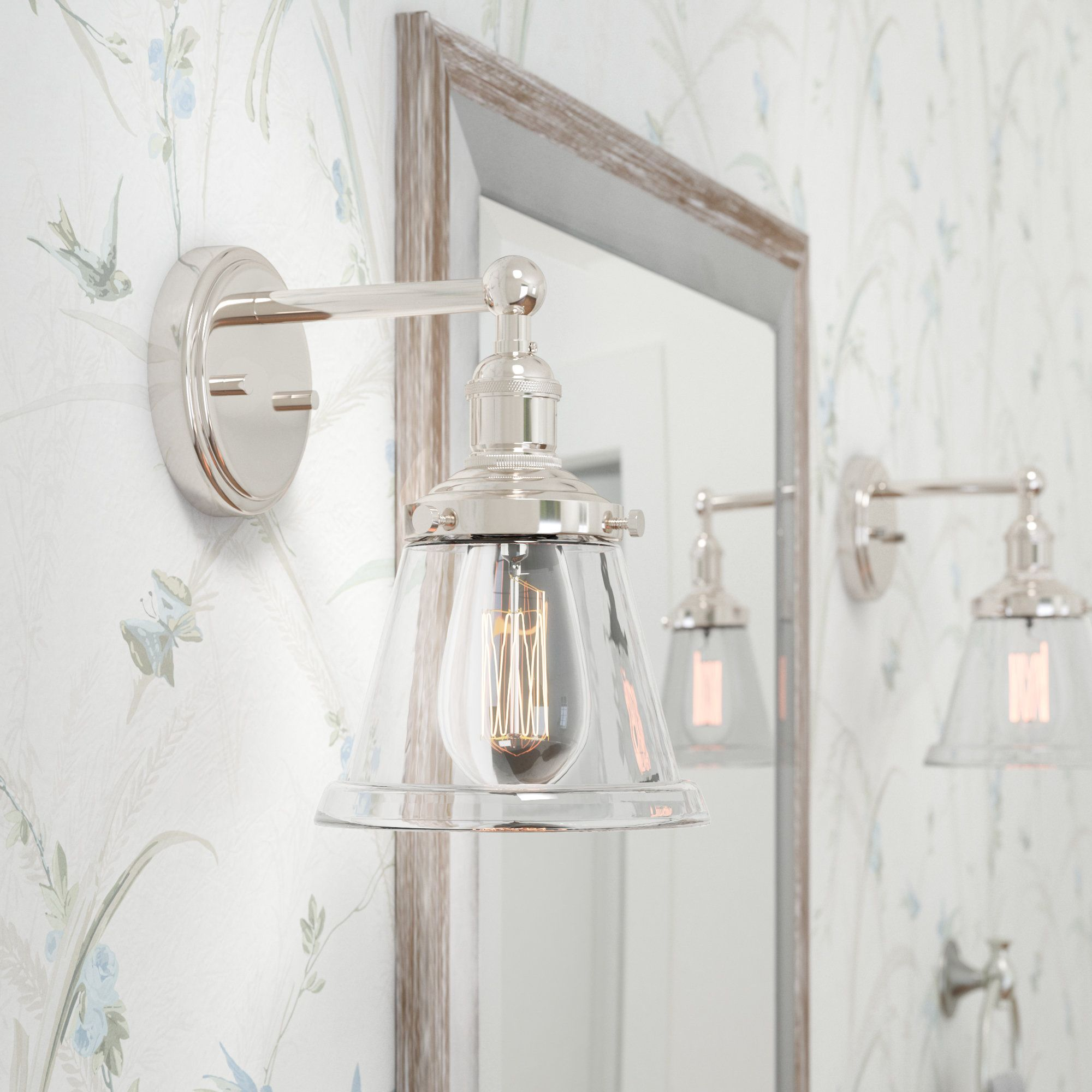 14 Visual Comfort Sconce With Glass Shade Bathroom Sconces Bathroom Light Fixtures Sconces