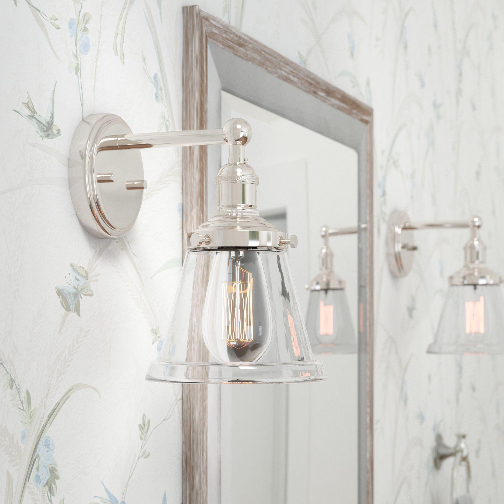 14 Visual Comfort Sconce With Glass Shade Bathroom Sconces Bathroom Light Fixtures Sconces