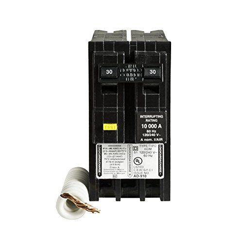 Square D By Schneider Electric Hom230gfic Homeline 30 Amp Twopole Gfci Circuit Breaker More Info Could Be Found At The Gfci Electricity Electrical Breakers