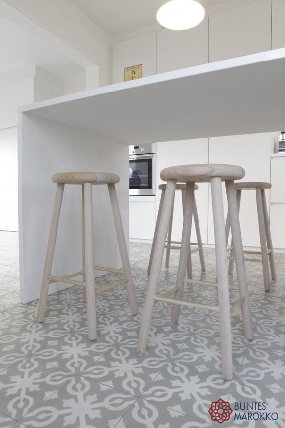 Bildergebnis für küche zementfliesen   Zementfliesen & Holz / Cement ...