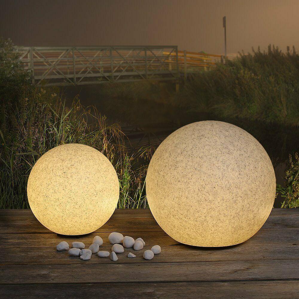 Jardin étang éclairage 2er Set Extérieur Lampe éclairage maison deco DEL Big Light