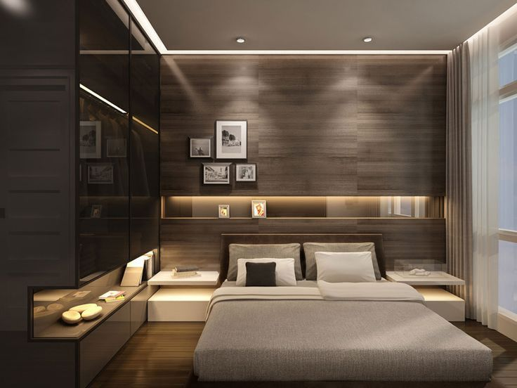 30 modern bedroom design ideas - Brown Bedroom 2015