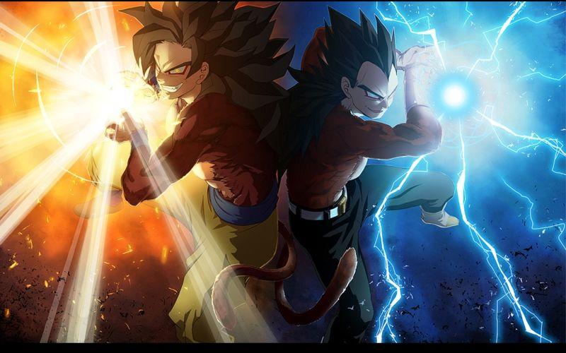 Vegeta Son Goku Goku Dragon Ball Z Fusion 1680x1050 Wallpaper Dragon Ball Wallpapers Dragon Ball Goku And Vegeta
