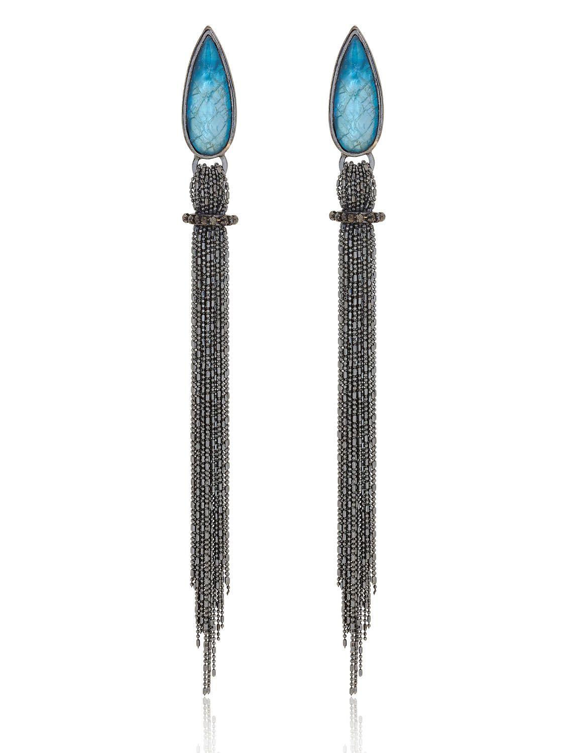all'ingrosso online miglior valore 50-70% di sconto LUCIA ODESCALCHI • Grand Blue Earrings | LUISAVIAROMA ...