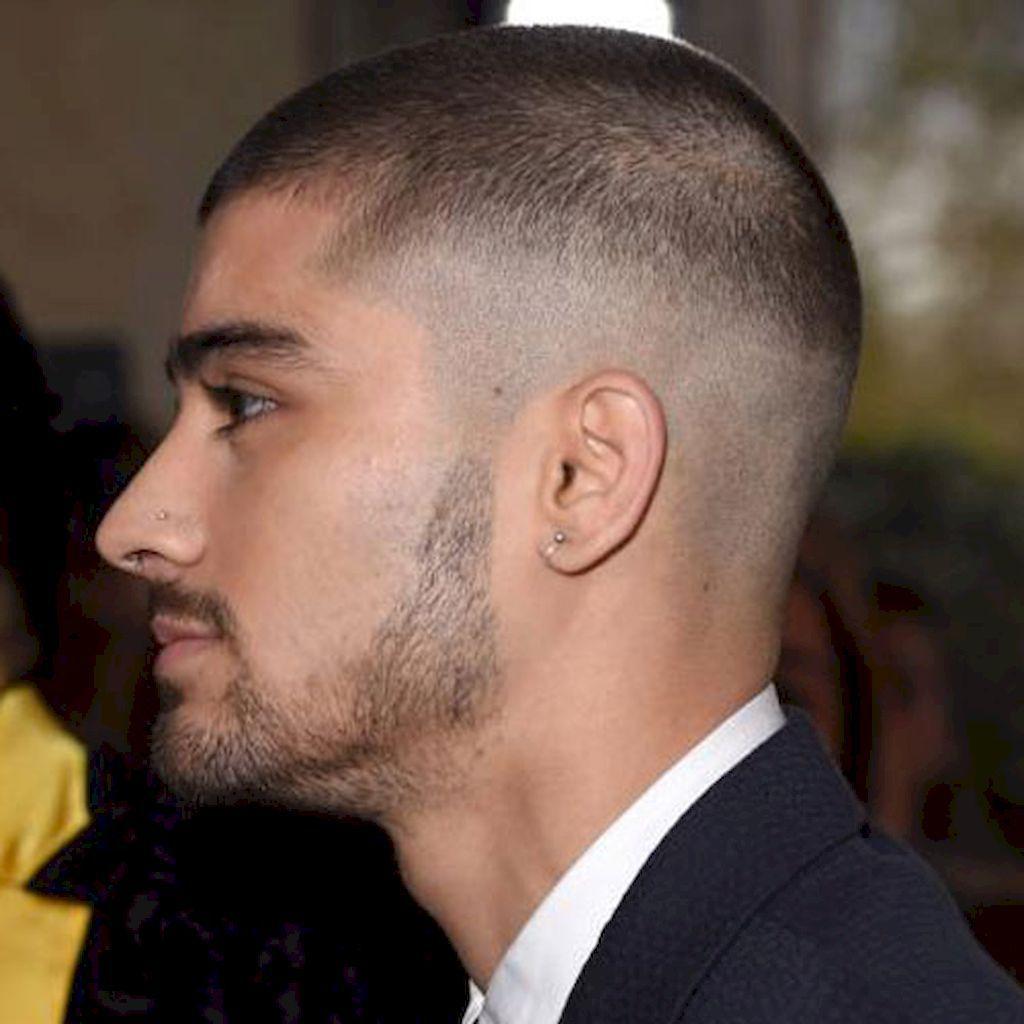 Short haircuts for men fade buzz cuts 7