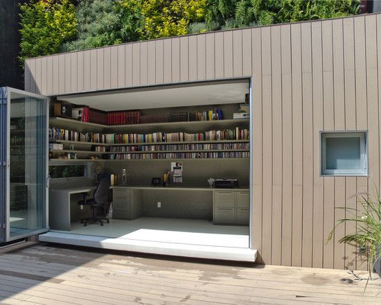 Surprising Foxy Garage Office Designs Foxy Contemporary And Minimalist Largest Home Design Picture Inspirations Pitcheantrous