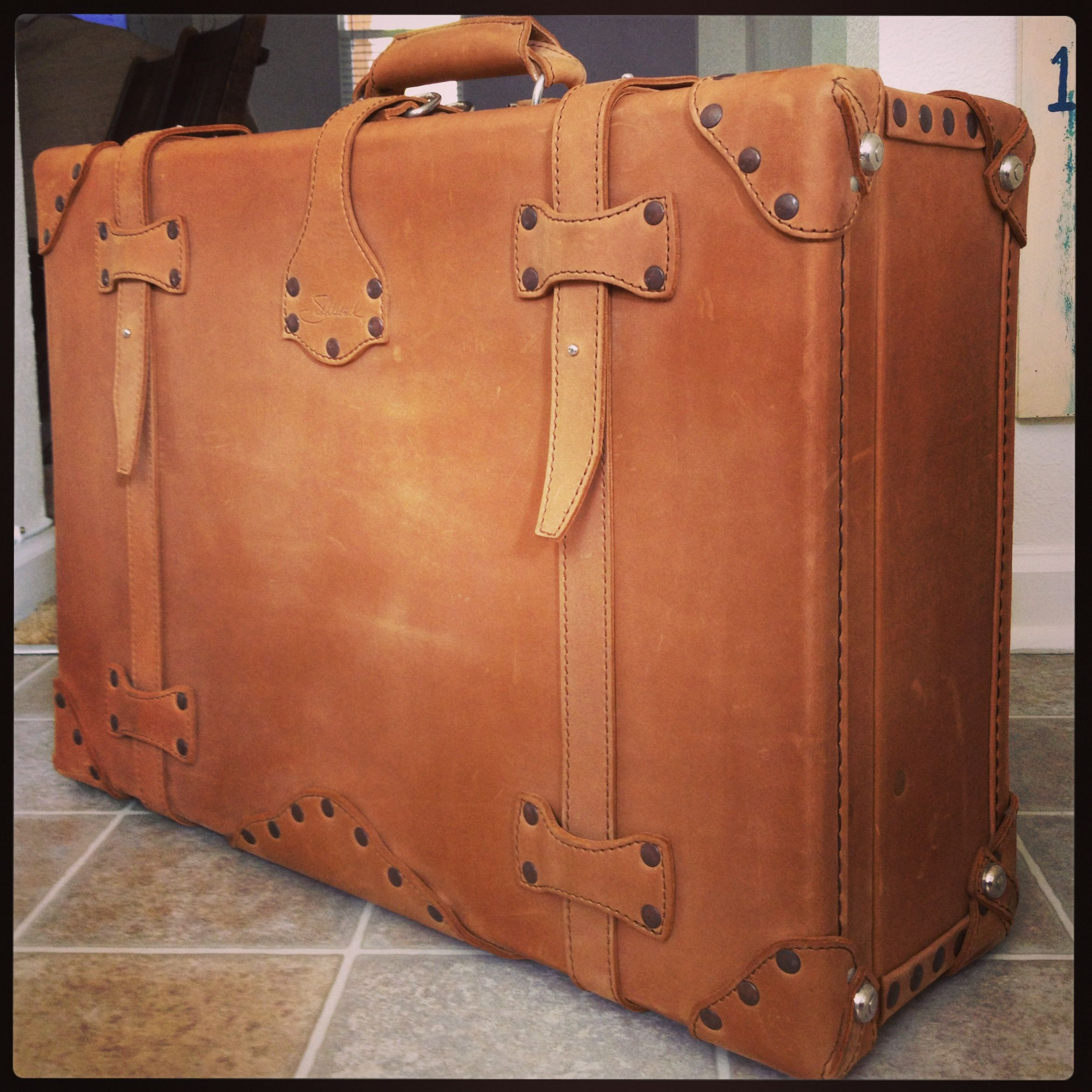 Globe-Trotter As someone that collects vintage suitcases, I find ...