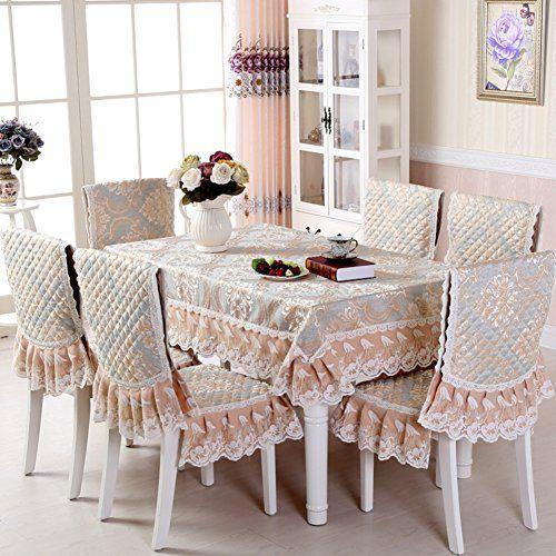 Europeanstyle Modern Dining Table Clothsimple Rectangular Pasta Coffee ClothA 150200cm59x79inch AMAZON BEST
