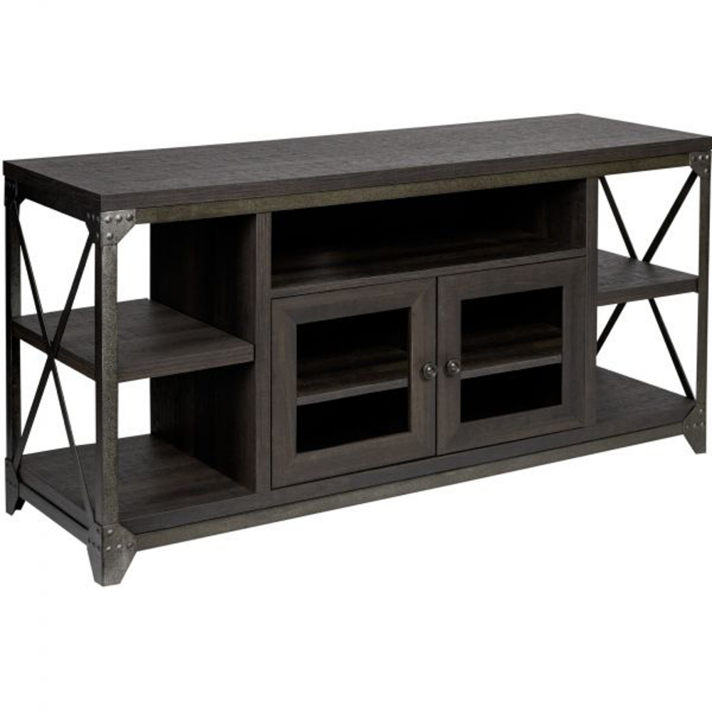 Picture Of District 55 Media Console Master Bedroom Set
