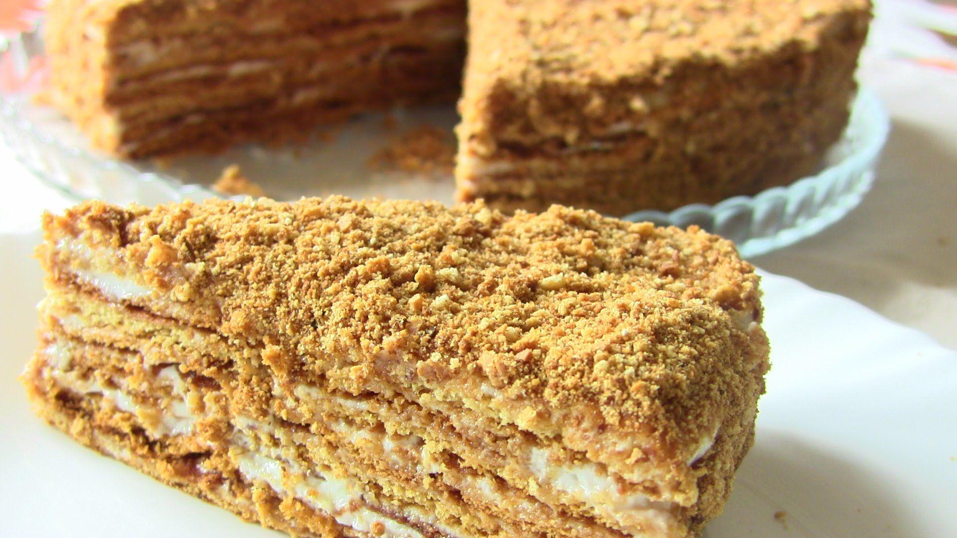 простые торты рецепты с фото пошагово
